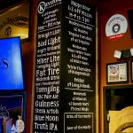 Wine and Beer List
